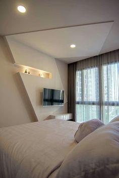 Wohn Schlafzimmer, Schlafzimmer Ideen, Wohnzimmer, Dachausbau,  Dachgeschosse, Innenausbau, Wohnwand Ideen, Rigips, Trockenbau