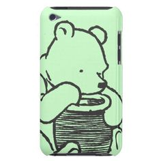Sketch Winnie the Pooh 3 iPod Touch Case-Mate Case