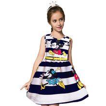 Niños Vestidos de Partido de la Muchacha Vestido de La Manera Traje de Minnie de…