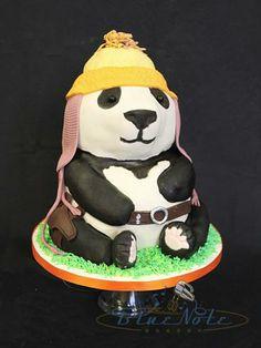 Jayne from Firefly...as a panda! | Blue Note Bakery - Austin, Texas