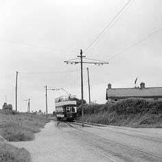 Tram, Howth Summit, Co. by O'Dea, James P. photographer Published / Created: [May 29 In collection: O'Dea Photograph Collection St Anne, Old Video, Buses, Dublin, Paths, Ireland, Journey, Boat, Trains