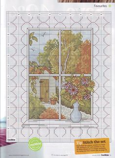 Eternal Autumn (Maria Diaz) From Cross Stitcher N°195 January 2008  3 of 3