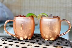 Buy Our Pack of 2 Barrel Shape Copper Mugs For $39.95. Our 16 Ounce Moscow Mule Mug is made of high quality pure copper and features a food safe coating.