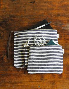 fog linen work pouch