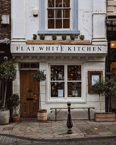 Flat White Kitchen Durham Extra coffee required this morning and a flat white sounds like an excellent choice . Bakery Interior, Coffee Shop Interior Design, Coffee Shop Design, Cafe Design, House Design, Store Design, Cozy Coffee Shop, Best Coffee Shop, Coffee Shops