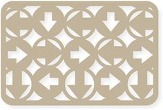 Silhouette Design Store - View Design #26262: 4x6 card arrows
