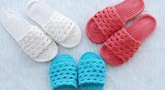 Crochet Woman's Slipper Pattern for Spring – Daily24trend Crochet Sandals Free, Crochet Shoes, Crochet Slippers, Crochet Clothes, Crochet Slipper Pattern, Crochet Patterns, Beautiful Sandals, Crochet Woman, Crochet Projects