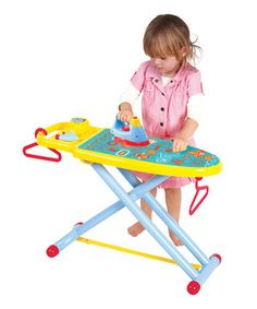 Look what I found on #zulily! Ironing Board Toy Set by Playgo #zulilyfinds