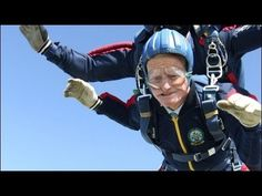 Britain's Oldest Skydiver | NowThis