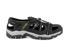 Power Pánské uzavřené outdoorové sandály SPEZIA / černá