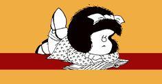 Mafalda, la niña filósofa nos ofrece una gran cantidad de frases divertidas sobre un mundo que parece no serlo del todo.