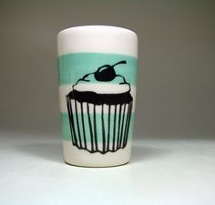 itty bitty cylinder cupcake - Made to Order/Pick Your Colour on Etsy, $20.72 AUD