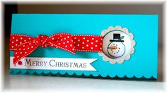 Big on Christmas - Stampin Up  -  Maybe with a treat cup??
