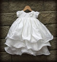 Silk Blessing/Christening/Baptismal Joy Gown Made to by kalikae Baby Christening Gowns, Christening Outfit, Baptism Dress, Baby Girls, Baby Girl Baptism, Baby Blessing Dress, Angel Gowns, Baby Gown, Little Girl Dresses