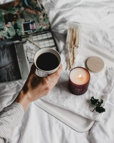 We'll be the first to admit that we love lighting a good scented candle, but the feeling of warmth t