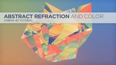 In This tutorial, I show you how to get a look similar to some of Justin Maller's Facets renders. We will use transparent objects to refract color images to make an abstract look. http://greyscalegorilla.com/blog/tutorials/render-an-abstract-refraction-low-poly-look-in-cinema-4d/ Cinema 4d Tutorial, Low Poly, Motion Graphics, Motion Design, Animation