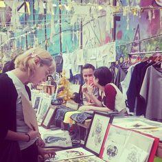 Domingo de Ilustraciones Rooftop Sale #craftshow #stall #booth #handmade