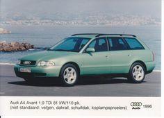 Audi A4 Avant 1.9 TDi (Dutch, 1996)