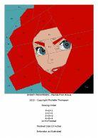 Disney Princess Quilt - Merida pattern