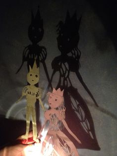 These cute DIY shadow puppets are a great way to bring bedtime stories to life!