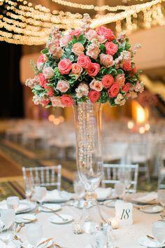 wedding centerpiece idea; photo: Arielle Doneson Photography