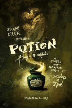 ZELDA DEVON Potion Poster