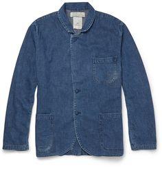 Remi Relief washed denim jacket