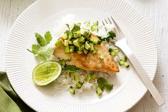 Liven up ordinary meals with this panfried fish and avocado salsa recipe.