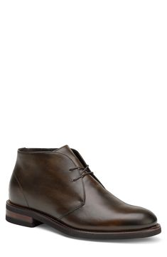 Men's Trask Raymond Chukka Boot, Size 13 M - Brown Mens Fashion Shoes, Men's Fashion, Leather Chukka Boots, Goodyear Welt, Low Heels, Dark Brown, Men's Shoes, Sole Water, Lace Up