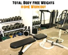 free weights workout
