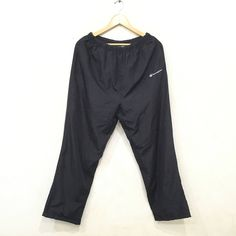 0769125d8 CHAMPION TRACK Nylon Pants Embroidery Logo sportwear Activewear Medium Size.  Used ClothingSize ...