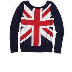Union Jack Long-Sleeve Sweater