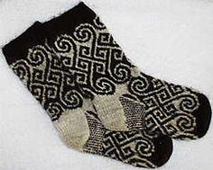 Ravelry: Long Spiral Socks pattern by Catherine Devine