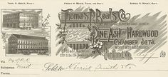 Thomas P. Beals Co. Pine Ash + Hardwood Chamber Sets - Woven Wire Matresses (Portland, Maine) 1890s a by peacay, via Flickr