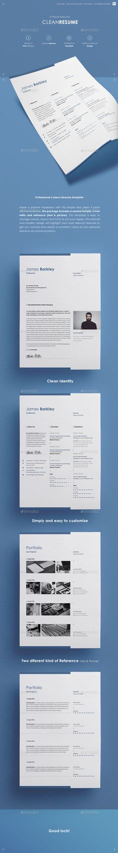 #Resume  - Resumes #Stationery Download here: https://graphicriver.net/item/resume-/14941950?ref=alena994