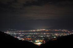 アルプス連峰パノラマ展望台 夜景 - Google 検索