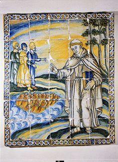 Santo António a pregar aos peixes, Museu Nacional de Arte Antiga, Lisboa,