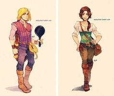 disney character gender swap | These Gender-Swapped Disney & Dreamworks Characters Will Make You ...