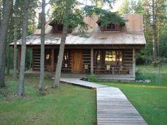 Bigfork Cabin Rental: Stunning Accommodations on an Original #Montana Homestead Ranch #HomeAway