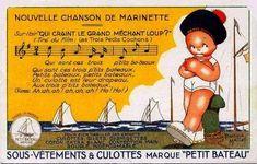 """Culottes """"Petit Bateau"""" Béatrice Mallet illustration...reépinglé par Maurie Daboux ◡ً❤"""