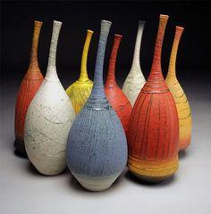 """Saatchi Online Artist: Nicholas Bernard; """"Long Neck Bottles"""""""