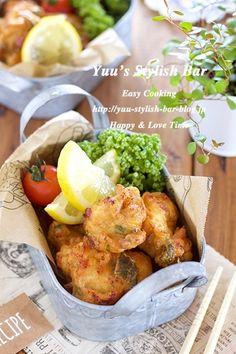 男子が喜ぶ♪『むね肉のふわふわ♡梅シソ唐揚げ』 by Yuu | レシピサイト「Nadia | ナディア」プロの料理を無料で検索