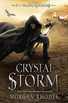 Crystal Storm: A Falling Kingdoms Novel by Morgan Rhodes. An epic clash between gods and mortals threatens to tear Mytica apart . . . and prove that not even the purest of love stands a chance against the strongest of magic. MAGNUS and CLEO are forced to test the strength of their love when Gaius returns to Mytica claiming he's no longer the King of Blood but a changed man seeking redemption. LUCIA , pregnant with the child of a Watcher, has escaped the clutches of the unhinged fire god…