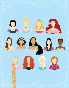 Princesas Disney em 15 versões {Olhar 43}
