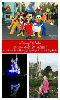 Sanity (and money) saving secrets to Disney World plus how to score that drink you want - even at the Magic Kingdom. | vacations | traveling with kids | tips and tricks