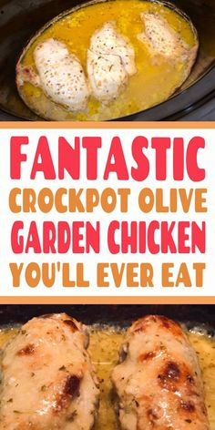 This copycat dinner recipe is such a delicious + easy addition to your menu! Copycat Recipes, Crockpot Recipes, Chicken Recipes, Cooking Recipes, Food Dishes, Main Dishes, Olive Gardens, Best Dinner Recipes, Yum Yum Chicken