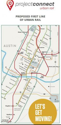 Why is Project Connect Handing Out This Inaccurate Urban Rail Map? | KUT