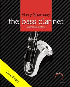 Bass Clarinet Book by Harry Sparnaay