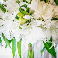 Happy #Saturday! 'Ice Dancer' White Orchid Lilies make a beautiful statement at #mossmountainfarm. Hoping they can make your day a little brighter!