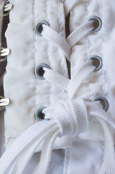 Authentic 'Gossard' vintage firm control lace up OB Girdle - silky noisy nylon and elastane open bottom girdle Strumpfgürtel. Gossard, Girdles, Corsets, 1960s, Lace Up, Etsy, Vintage, Corset, Sixties Fashion